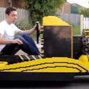 20歳の青年が50万個以上のレゴ・ブロックで本物の自動車を製作! その試乗動画がすごい