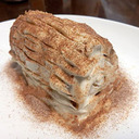 ヨーグルトとクッキーで作る、簡単ティラミス風ブッシュ・ド・ノエル