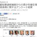 「表現の自由」を守ってくれる都知事は誕生しなそう? AFEEが候補者へのアンケート結果を公表