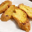 この甘さがたまらない! プリンとバニラアイスの簡単フレンチトースト