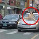"""走行中の車のボンネットに""""全裸女性""""!? 韓国・車をめぐる珍トラブルが続発中"""