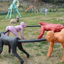 エロチックアートあふれる「ぺミクミ彫刻公園」で、思わず健康になる