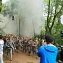 中国の大学が愛国映画のエキストラに学生を徴用 爆破シーン撮影で鼓膜破裂も!?