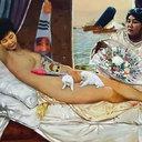 現実は絵よりも奇なり? 国会議員会館に「朴槿恵の裸体画」展示で物議