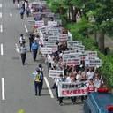 東京オリンピックによるビッグサイト使用中止問題解決へ向け、ついにデモが開催