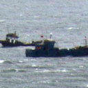 南北の緊張高まる中、中国船がワタリガニ密漁で丸儲け!「獲れるものはなんでも獲っていく」