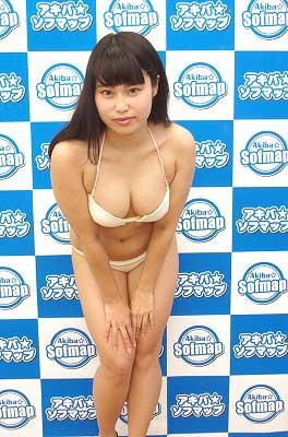 グラビアアイドル西永はるか、AカップからFカップへ成長!? 発育よすぎるおっぱいをポロリかの画像1