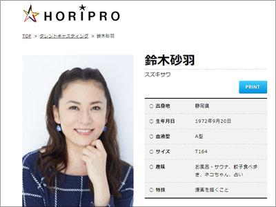 舞台降板トラブル渦中の女優・鈴木砂羽は「芸能界の豊田真由子」だった!?の画像1