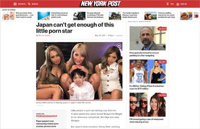 身長109cmの日本人AV監督兼男優「にしくん」、世界各地で話題沸騰中!の画像2