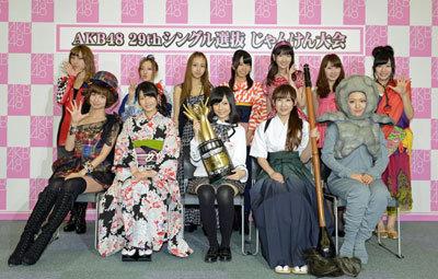 存続危機の「AKB48じゃんけん大会」 人気メンユニット参戦表明で忖度大会に?の画像1