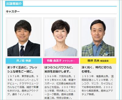 『あさイチ』有働由美子アナが朝から昇天!? イケメン俳優から全力ハグされて「ああっ!」の画像1