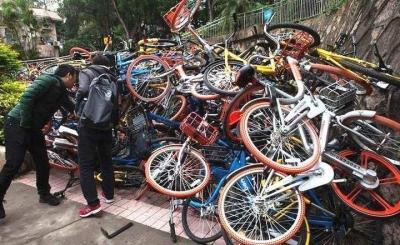 部品窃盗から詐欺まで……爆発的な人気獲得も、中国人の低モラルに泣かされる「自転車シェアリング」の画像1