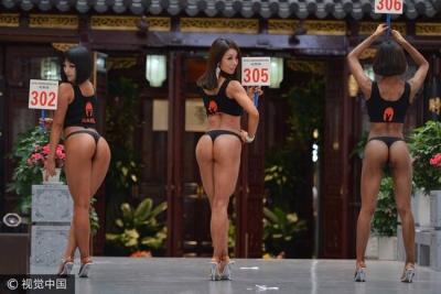 プリップリのお尻が大集合! 中国「美尻コンテスト」優勝者に、海外メディアも注目の画像2