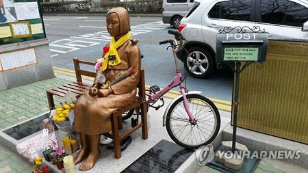 反日感情の象徴じゃなかったの? 韓国で相次ぐ、韓国人による少女像冒涜事件の画像2