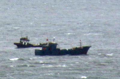 南北の緊張高まる中、中国船がワタリガニ密漁で丸儲け!「獲れるものはなんでも獲っていく」の画像2