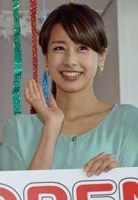 カトパン加藤綾子アナの「消防署コスプレ」に素人カメコ殺到!「10人ほどが迷惑行為も……」の画像1