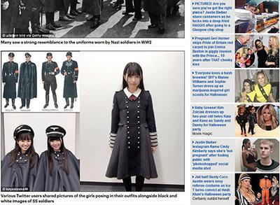 欅坂46ナチス制服酷似炎上騒動が海外に飛び火! 米・ユダヤ人権団体の要求に、運営が謝罪文発表で……の画像1