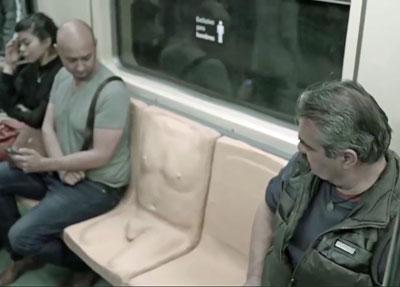 メキシコの地下鉄に「ペニス付き座席」登場! そこに隠されたメッセージとは……の画像2