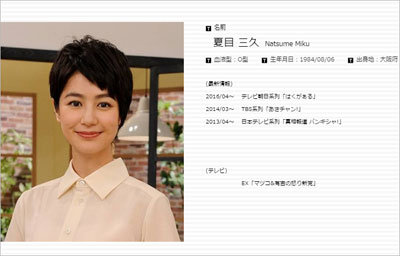 有吉弘行・夏目三久結婚・妊娠スクープネタ元は夏目本人で確定かの画像1