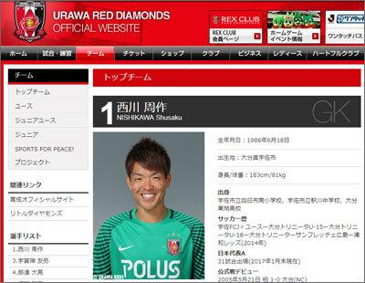 原因はGK・西川周作の不調? 浦和レッズ「J1前半戦8位転落」の裏に、いったい何が?の画像1