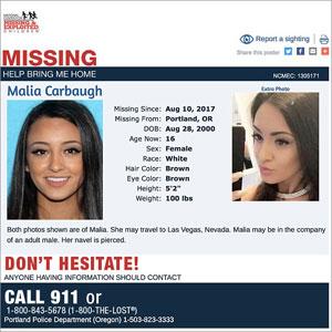 自ら望んで性奴隷に? 人身売買組織から保護されたばかりの16歳美少女が再び失踪の画像2