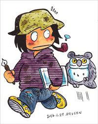 昭和漫画を現代へ受け継ぐ漫画家・史群アル仙が語る、ADHDとの付き合い方の画像1