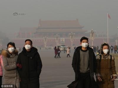 まるで国全体がスモークドチャイナ……中国・大気汚染「最悪レベル」を更新中!の画像1