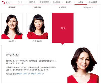 NHK杉浦友紀アナ、リオ後に独立へ! すでにTBS・フジテレビから触手が……の画像1
