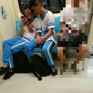 電車内での乳舐めに、校舎ベランダや屋上でフェラ! 台湾中高生の性欲が、所構わず暴走中!の画像3