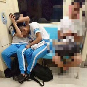 電車内での乳舐めに、校舎ベランダや屋上でフェラ! 台湾中高生の性欲が、所構わず暴走中!の画像2