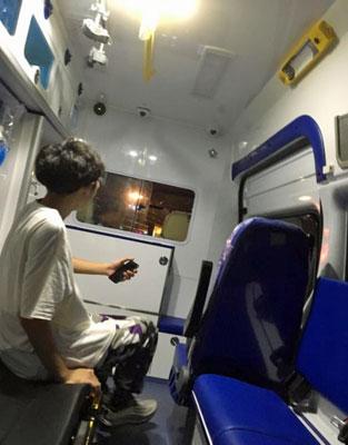 物流会社の運転手が、こっそり副業!? 中国版「Uber」で配車依頼したら救急車が登場!の画像2