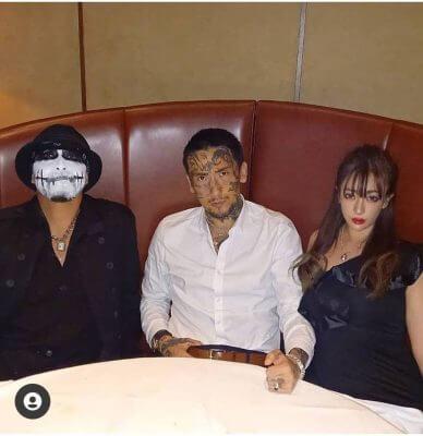 """キング・オブ・アウトロー""""瓜田純士とその妻・麗子がNew Year Rock ..."""